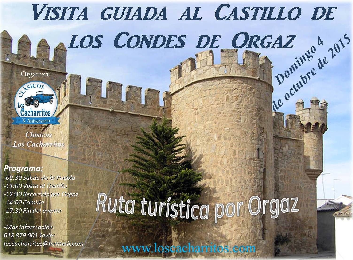 CARTEL DE ORGAZ