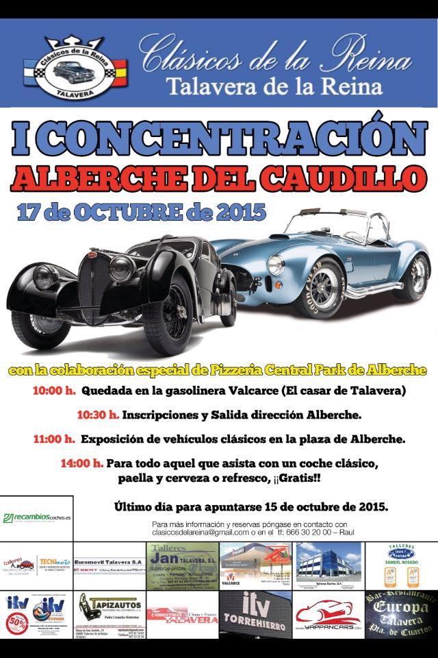 CARTEL ALBERCHE DEL CAUDILLO